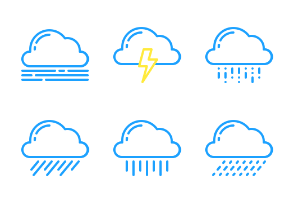 Weather Outline Two Tone
