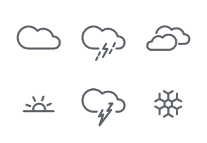 Weather - web - app UI
