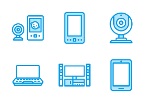 Wireless Devices - Blue Line