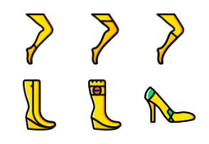 Woman Footwear - Yellow