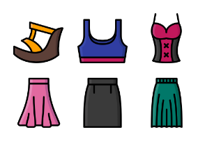 Womens Clothing Colour Collection