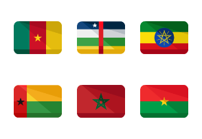World Flags: Africa