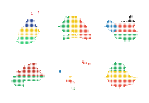 World Maps Dots