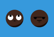 Emojis - Flat, Pixel Perfect w/ Skin Tone