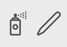 Graphic design tools (outline)