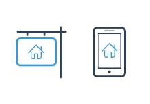 ikooni outline: Real Estate