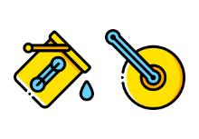 User interface - yellow