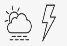 Weather Forecast & Meteorology Line Art